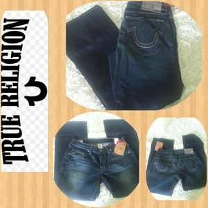 True Religion Men Jeans section straight  seat